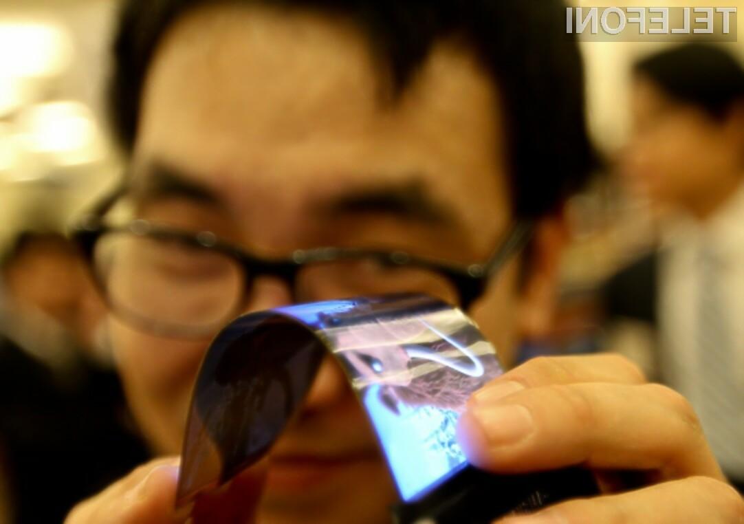 Upogljivi zasloni Samsung OLED bodo omogočili izdelavo pametnih mobilnih telefonov nadvse zanimivih oblik!