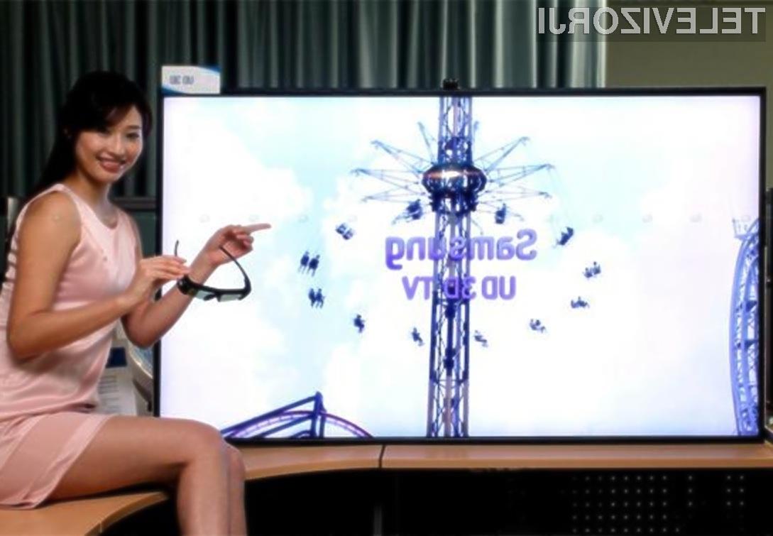 Ponujeno ločljivost največjega televizor OLED podjetja Samsung bodo lahko lastniki le s težka izkoristili!