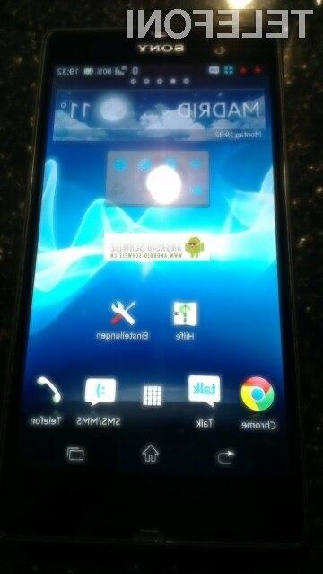 Sony napada z Xperio Z L36h