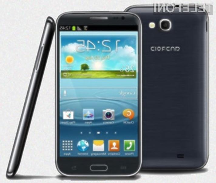 Kopija mobilnika Samsung Galaxy Note 2 bo zagotovo šla v prodajo kot za stavo!