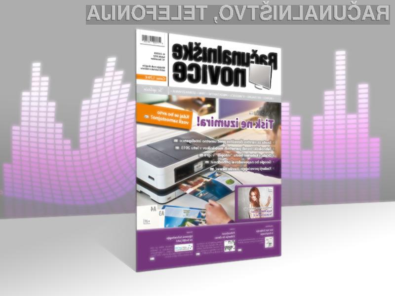 Nova številka je že v prodaji, dobite pa jo na vseh bolje založenih prodajnih mestih revij in časopisov.