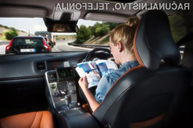 Z uvedbo samodejno vozečih avtomobilov naj bi se število nesreč drastično zmanjšalo!