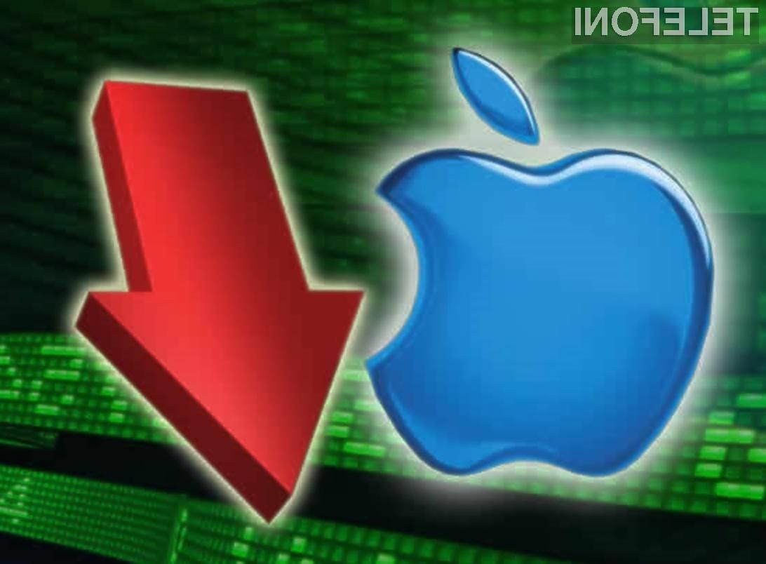 Zanimanja za nakup Applovih izdelkov je vse manj!