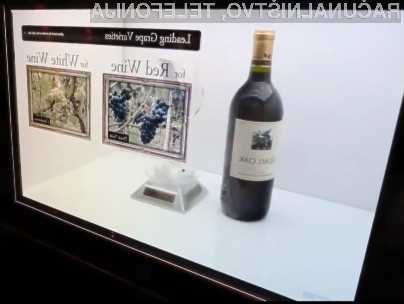 Razstavno »škatlo« s prozornim zaslonom bi lahko v praksi ugledali še pred poletjem.