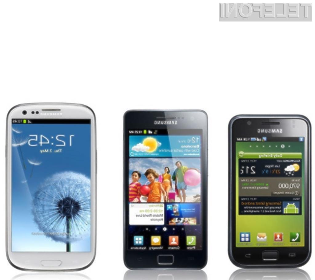 Samsung prodal več kot 100 milijonov mobilnikov Galaxy S