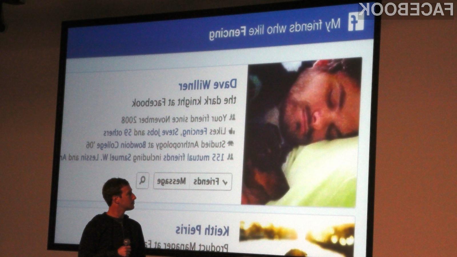 Podjetje Facebook na iskalnik Graph Search stavi veliko, saj je zanj tako pomemben, kot sta na primer sporočilni sistem in časovnica.