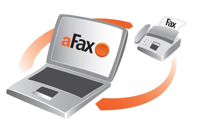aFax omogoča faksiranje kar iz programa za e-pošto.