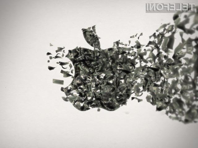 Podjetje Apple večinoma svojega dobička kuje na račun priljubljenosti pametnega mobilnega telefona iPhone.
