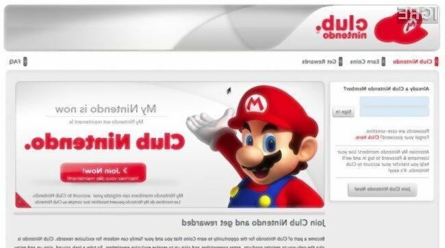 Včlanite se v Nintendo klub in dobili boste kodo za brezplačno 3ds igro.