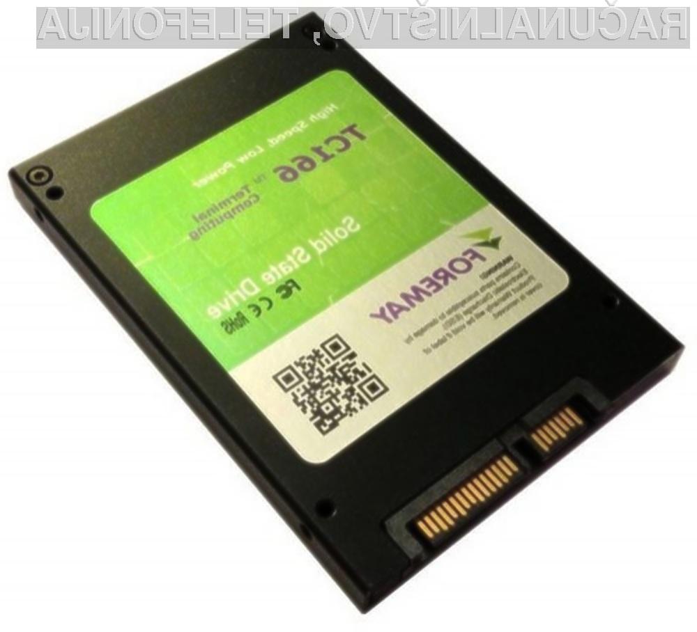 Bo pogon Solid State kapacitete dveh terabajtov dovolj za shranjevanje podatkov?