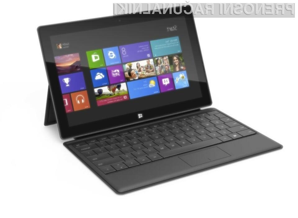 Cenejše tablice Microsoft Surface Pro in Surface RT naj bi bile naprodaj že proti koncu letošnjega leta.