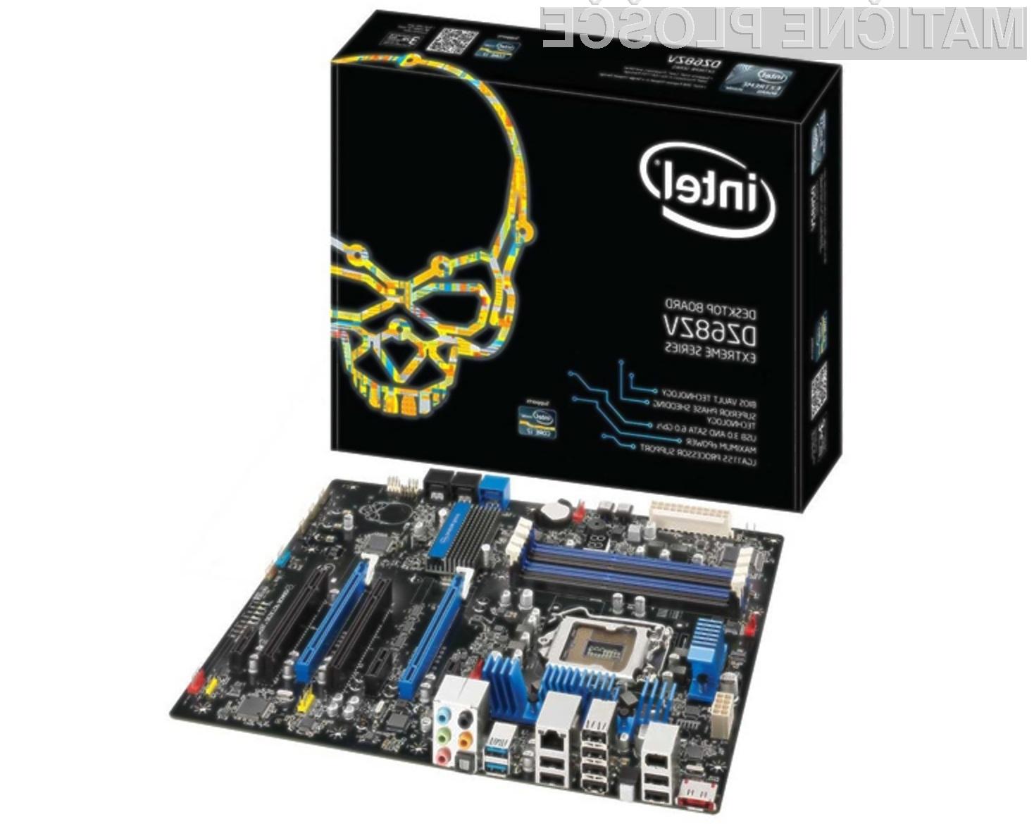Osnovnih plošč podjetja Intel za osebne računalnike kmalu ne bo več na trgu!