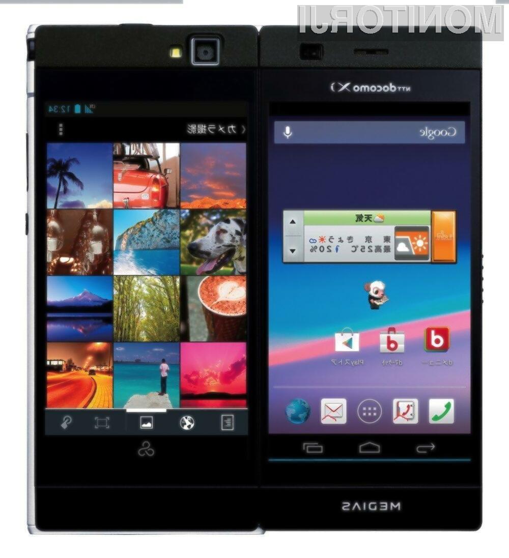 NEC bo uporabnikom kmalu ponudil pametni telefon z dvema zaslonoma, ki nosi oznako Medias W.