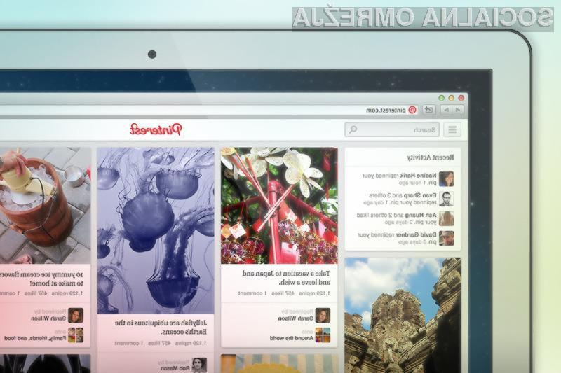Z novo podobo spletnih strani želijo avtorji družbeno omrežje Pinterest povzpeti še na stoničko višje.