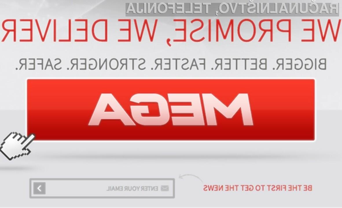 Spletni portal Mega bo s 50 gigabajti brezplačnega prostora kot nalašč za shranjevanje raznovrstnih vsebin.