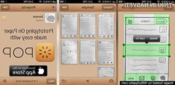 S pomočjo aplikacije POP boste lahko iz ustvarjenih skic 123 ustvarili delujočo aplikacijo.