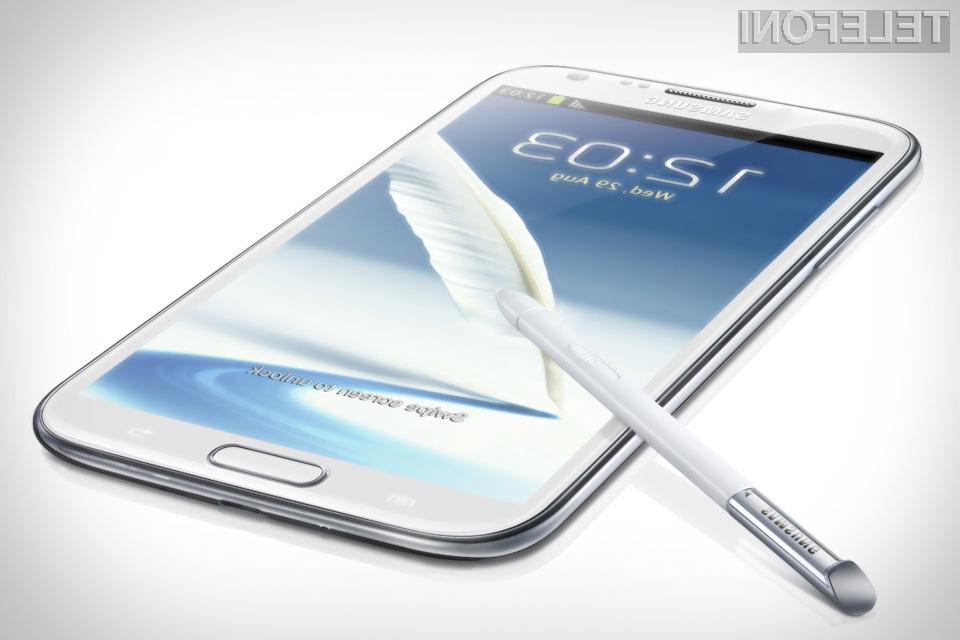 Mobilnik Galaxy Note 3 naj bi bil izjemno zmogljiv in nadvse všečen.