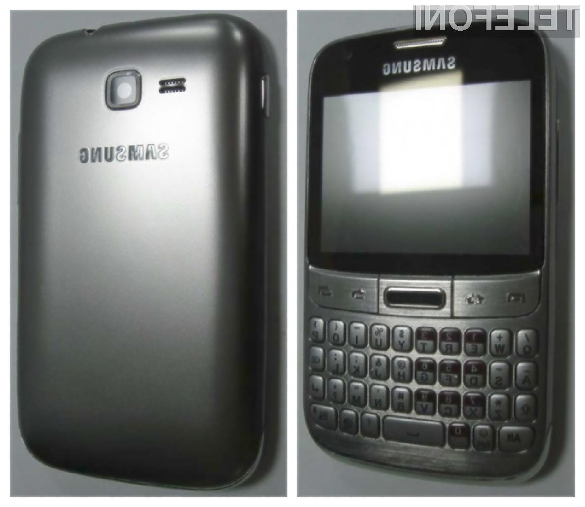 Ljubitelji fizičnih tipkovnic že nestrpno čakajo na prihod mobilnka Samsung Galaxy M Pro 2.