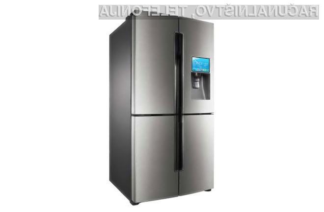 Tablični računalnik se več kot odlično prilega hladilniku!