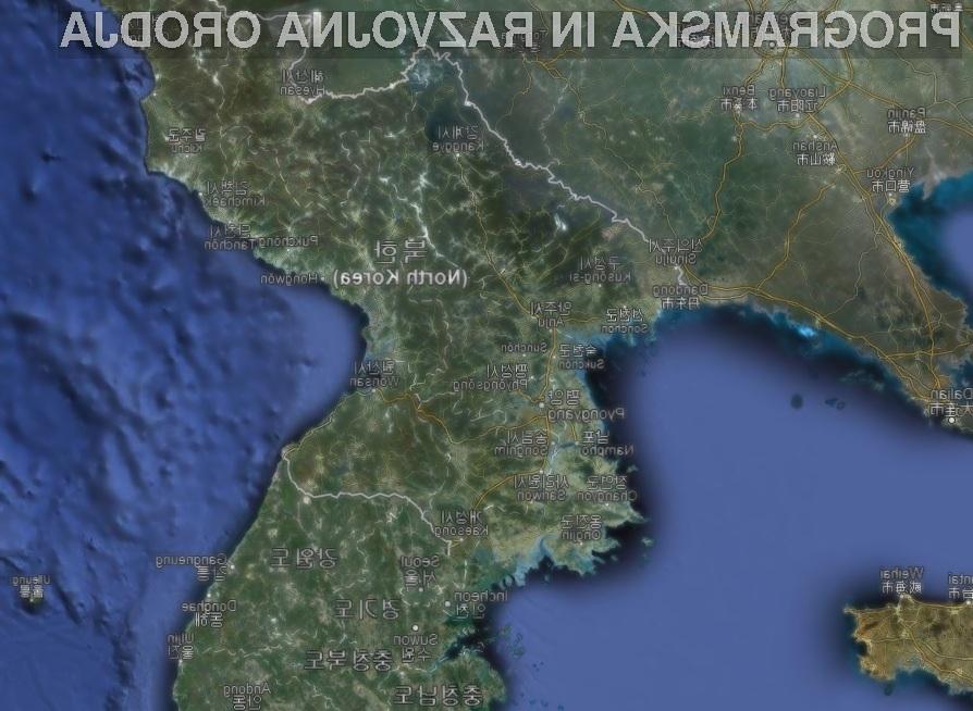Severna Koreja je bila na presenečenje mnogih vključena v kartografski sistem Google Map.