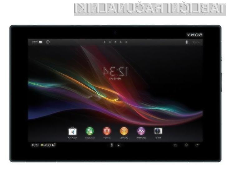 Tablični računalnik Sony Xperia Tablet Z bo kot nalašč za uporabo na terenu!