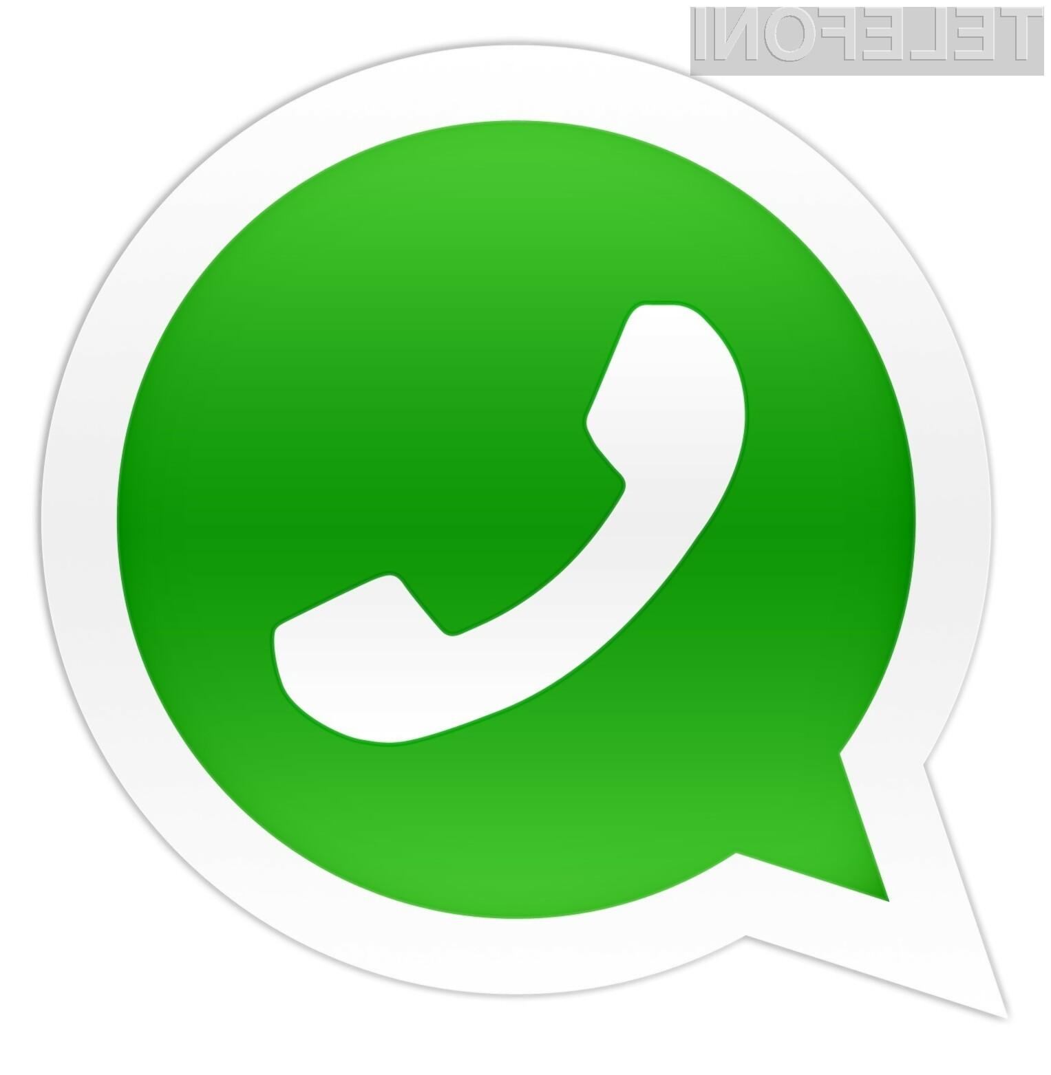 Za aplikacijo WhatsApp naj bi se ogrela tako Facebook kot Google.