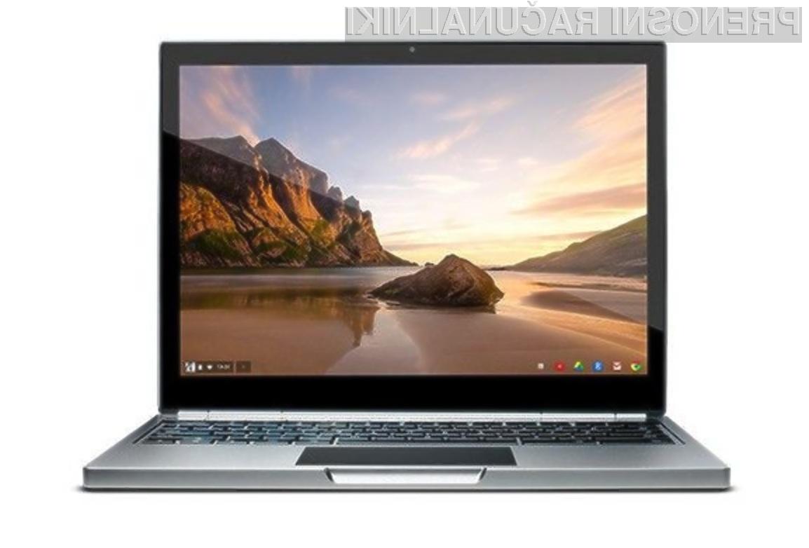 Na dotik občutljiv prenosnik Google Chromebook Pixel navdušuje v vseh pogledih!