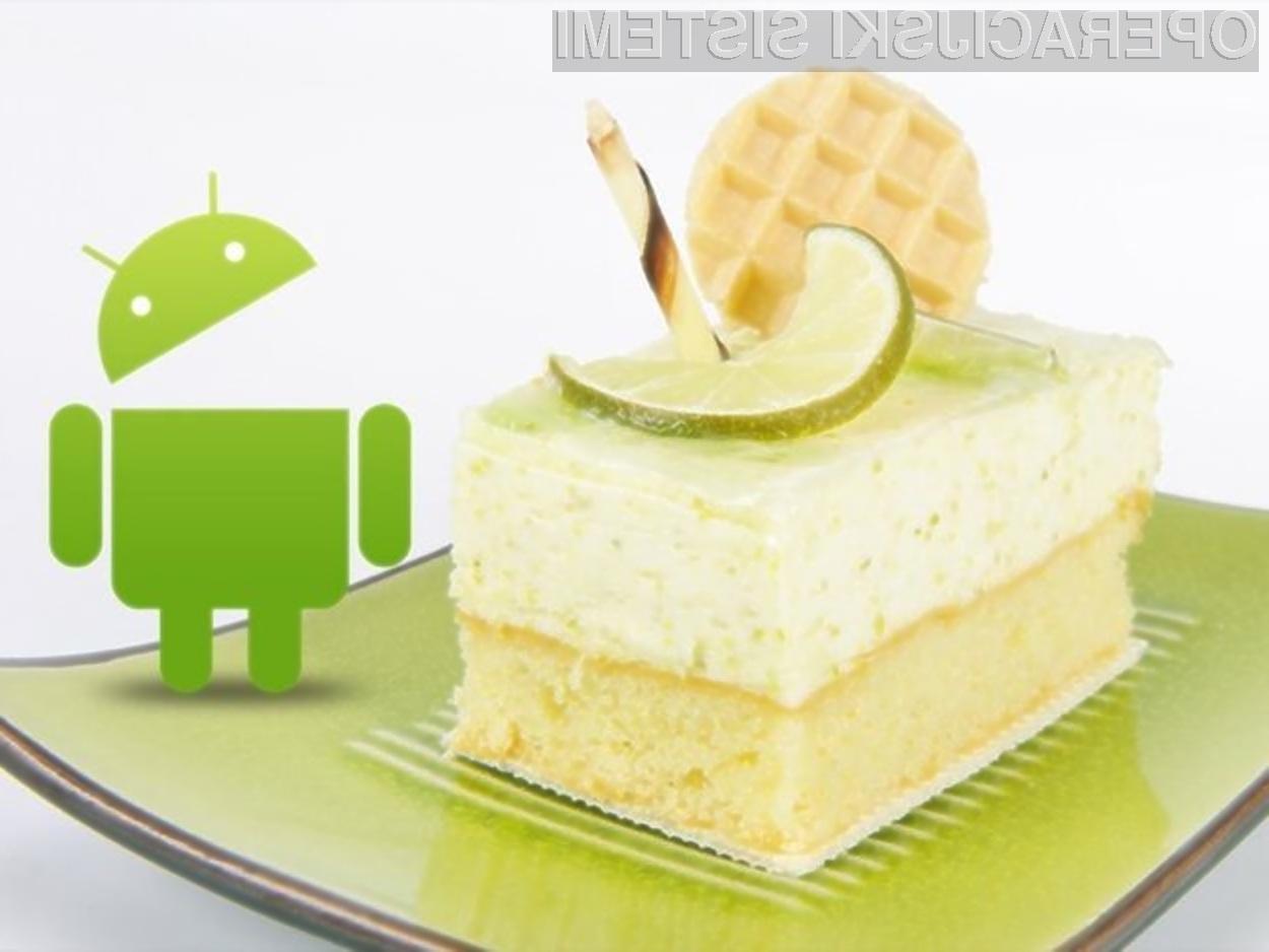 Mobilni operacijski sistem Android 5.0 Key Lime Pie bomo lahko preizkusili v živo že konec maja!