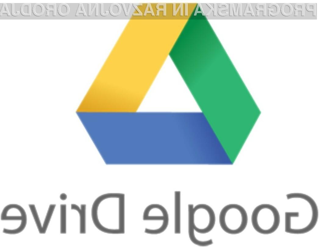 Oblačna storitev Google Drive je kot nalašč za gostovanje domačih spletnih strani.