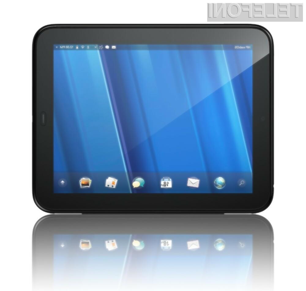 HP je leta 2011 kupcem ponudil tablico TouchPad.