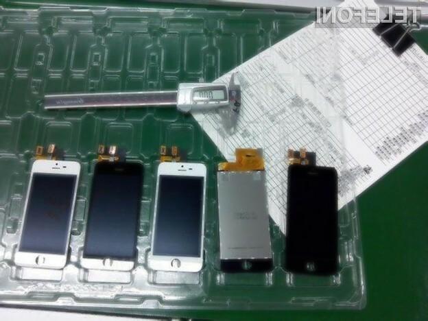 Proizvodnja novega iPhona 5S je že stekla.