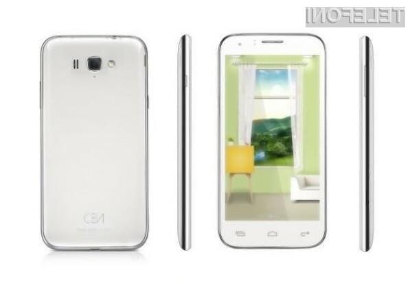 Zunanjost nekoliko spominja na mobilnik Galaxy S III.