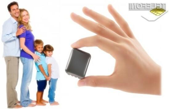 Swish Mini Phone je manjši celo od škatlice vžigalic.