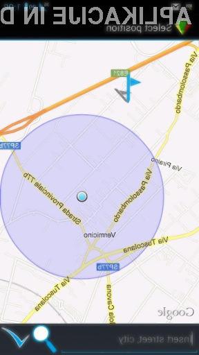GeoTask: Na lokacijo vezana obvestila za naprave Android