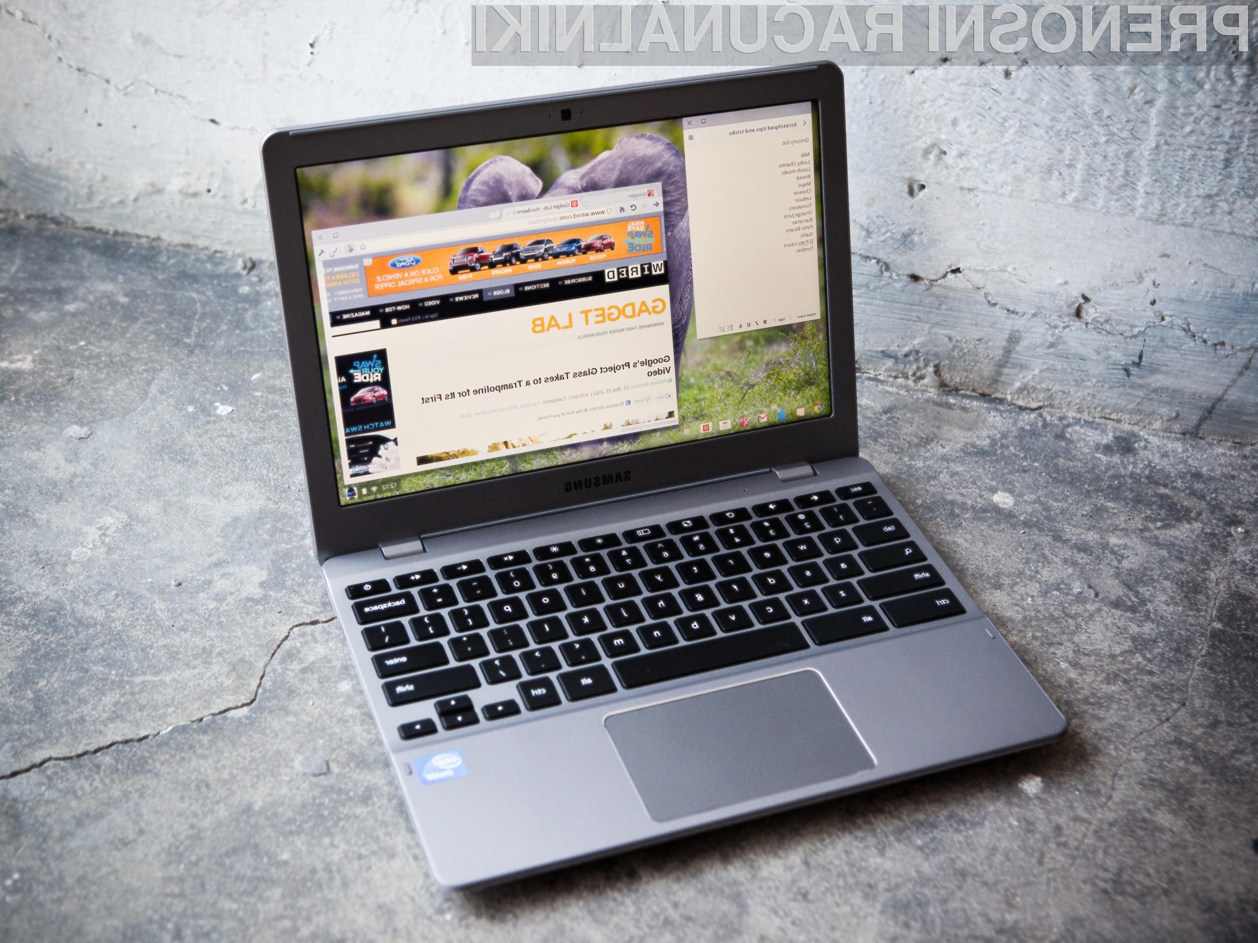 Prenosnik Chromebook Pixel bo kmalu bogatejši za podporo hitremu mobilnemu omrežju 4G/LTE.