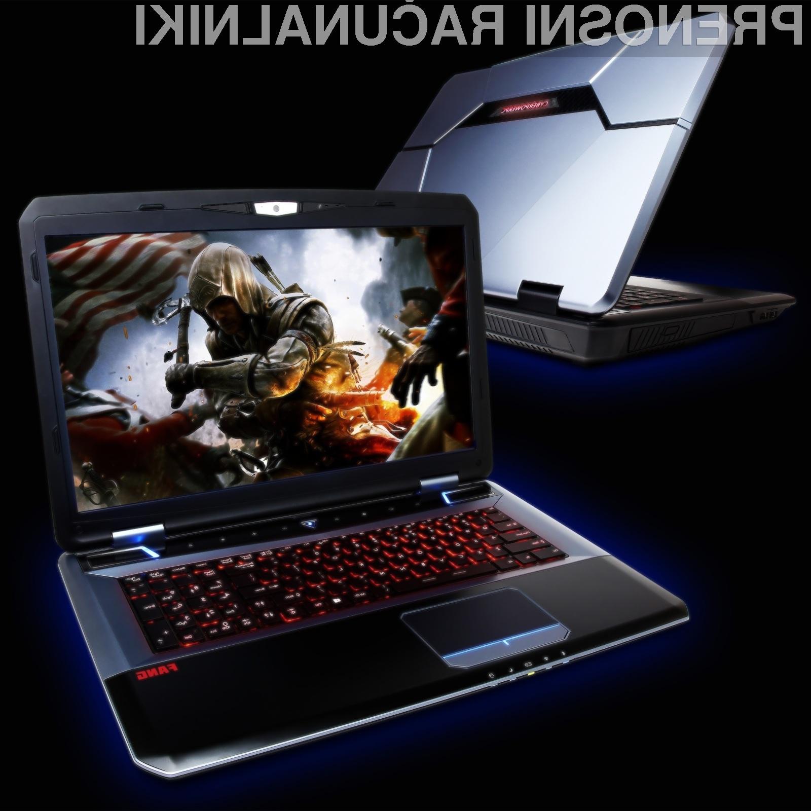 FangBook X7 je prenosnik namenjen tistim, ki zahtevajo le najboljše.