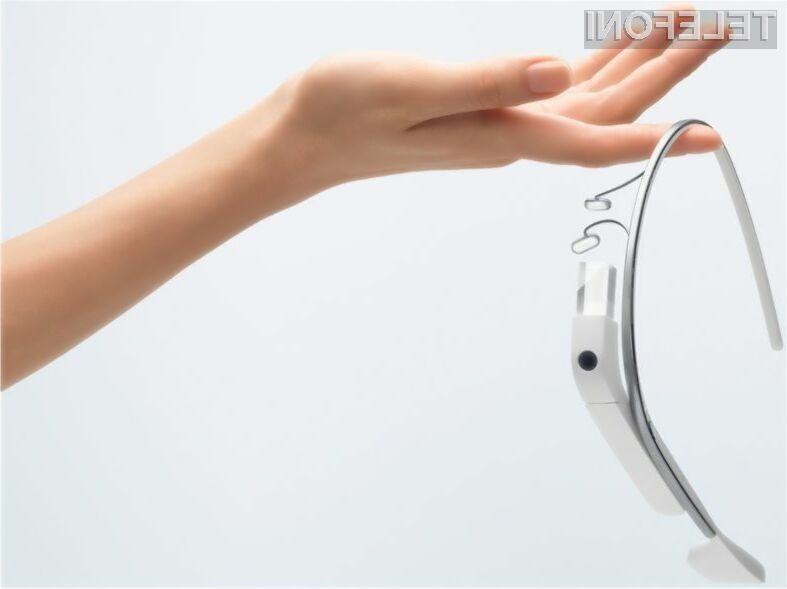Za prve primerke večpredstavnostnih očal Google Glass bo onkraj luže potrebno odšteti kar preračunanih 1.170 evrov.