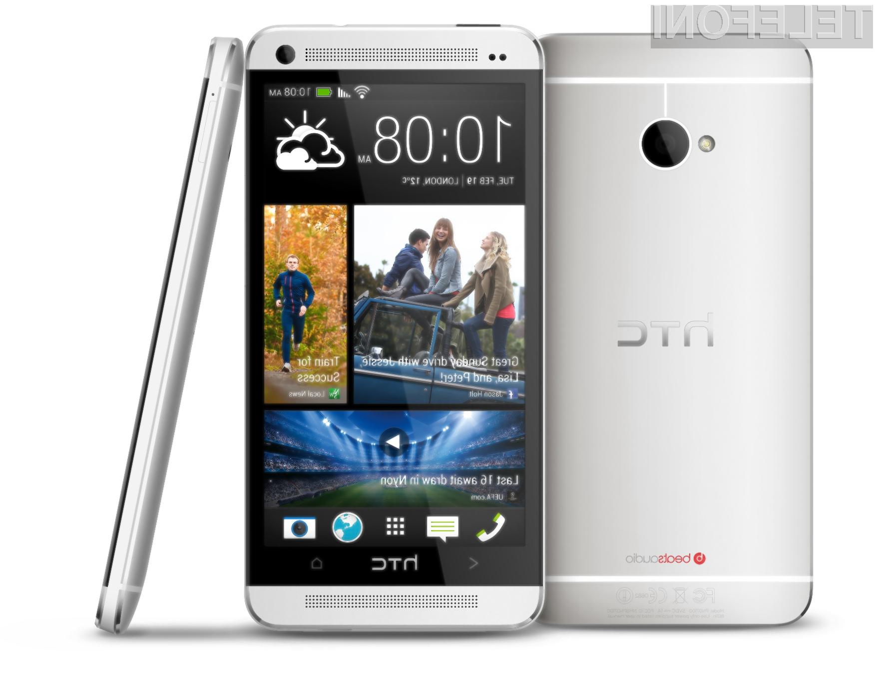 HTC One v navezi z usmerjevalnikom 5G Wi-Fi zagotavlja kar 3-krat hitrejši prenos podatkov kot standard 802.11n.