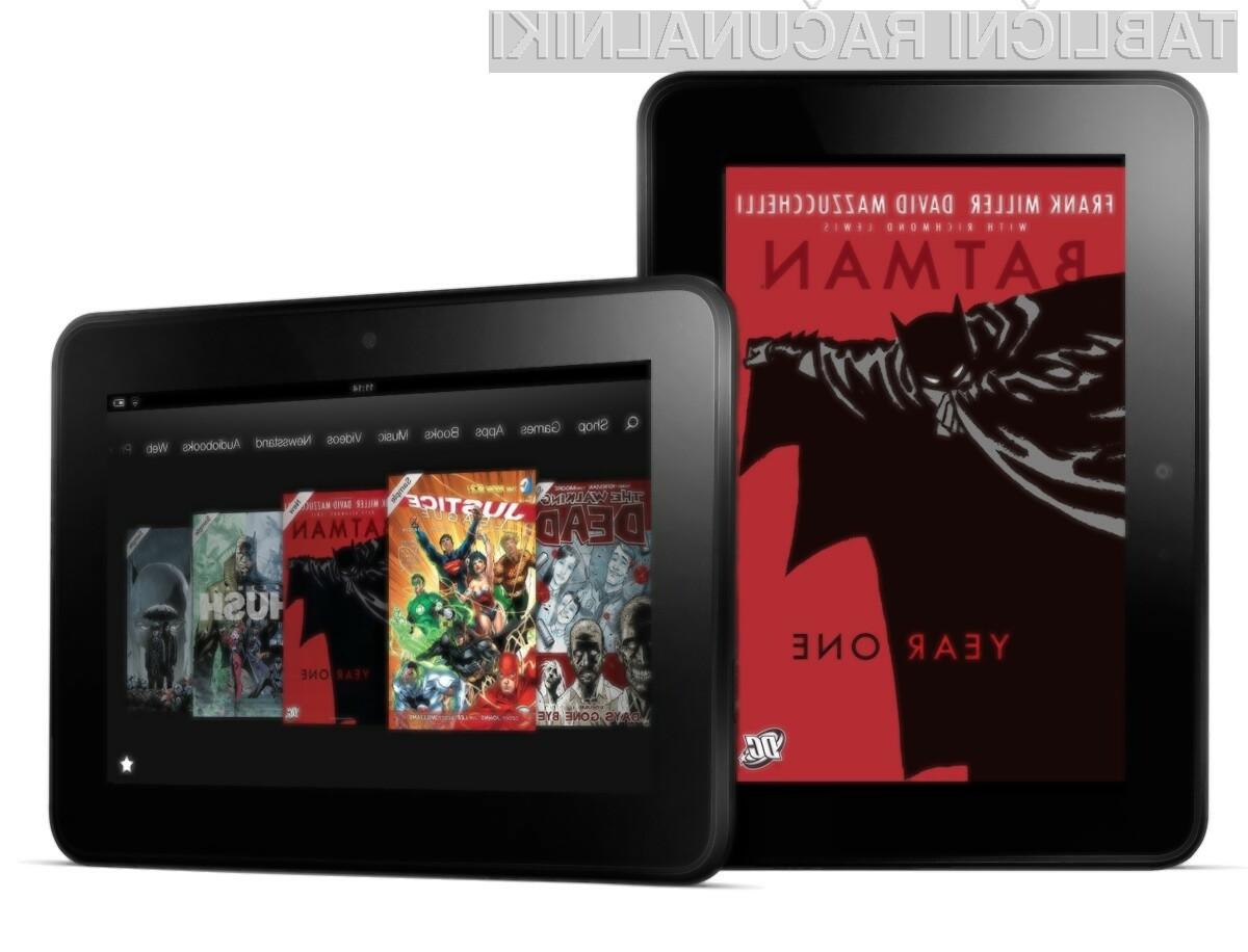 Cenejša tablica Amazon Kindle Fire HD naj bi bila naprodaj še prej jesenjo!