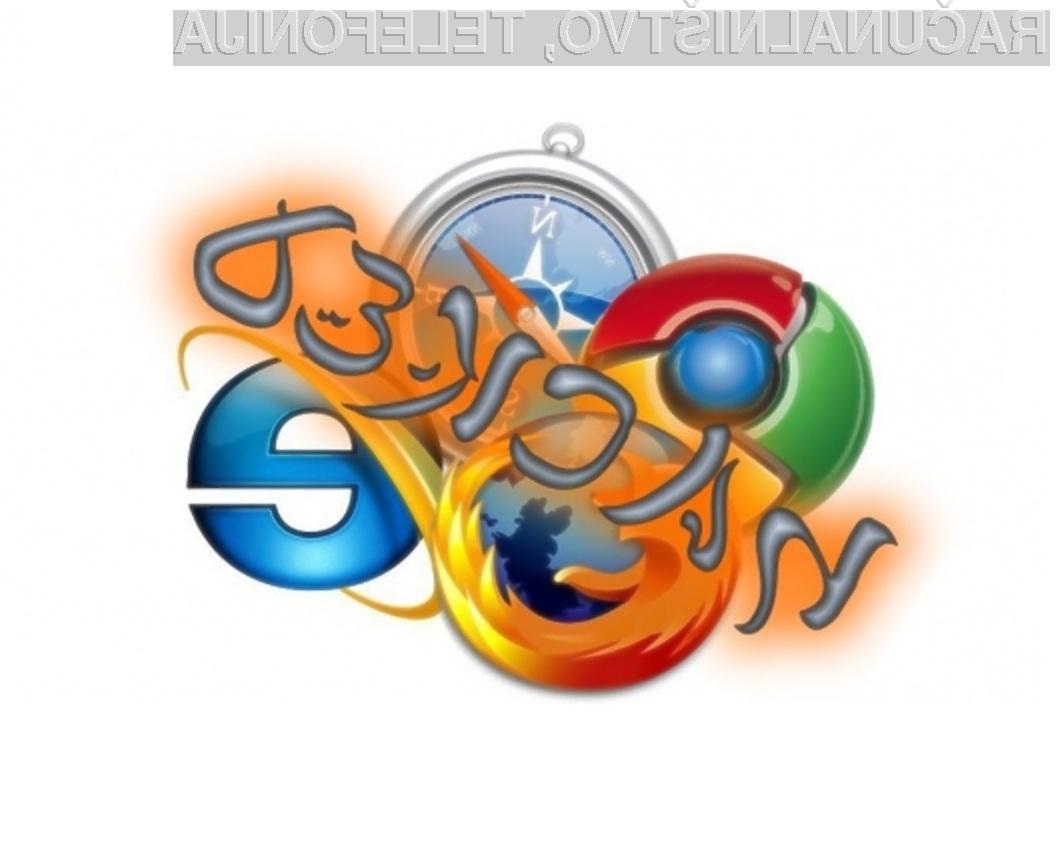 Med spletnimi brskalniki se je najbolje odrezal Applov Safari.