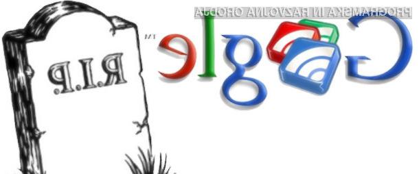 Google ukinja priljubljeno storitev Reader