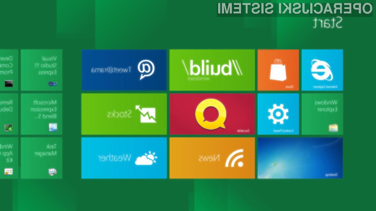 Microsoft naj bi pohitel s pripravo operacijskega sistema Windows 9 zaradi izjemno slabe prodaje Oken 8.