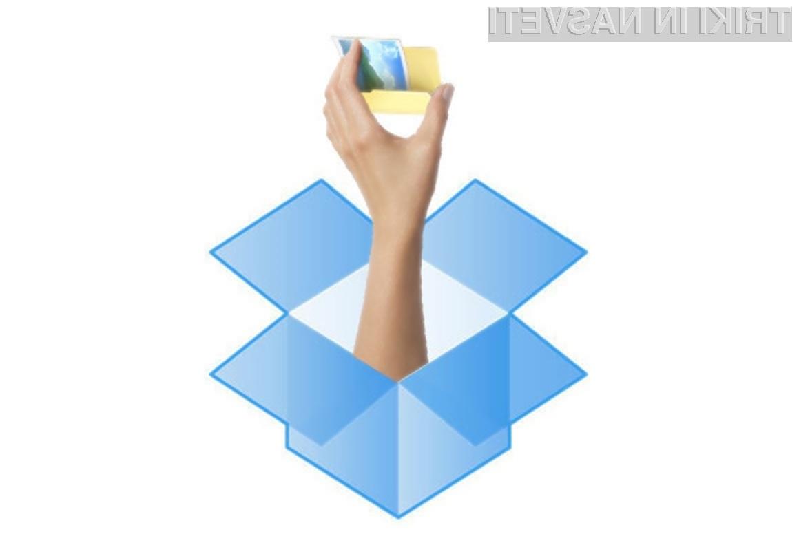 Datoteke in mape, shranjene v oblačni storitvi Dropbox, lahko z uporabo povezave delimo s komerkoli na svetovnem spletu.