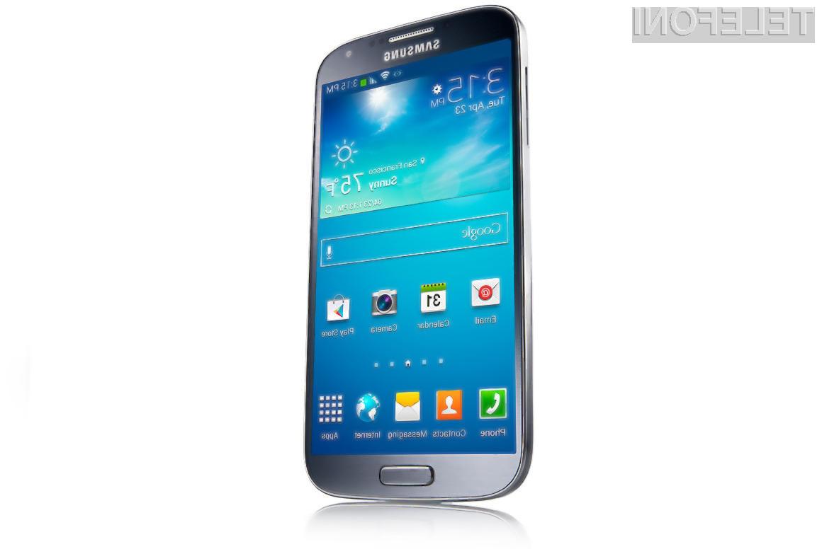 Pametni mobilni telefoni podjetja Samsung so med uporabniki mobilne telefonije zdaleč najbolj priljubljeni!