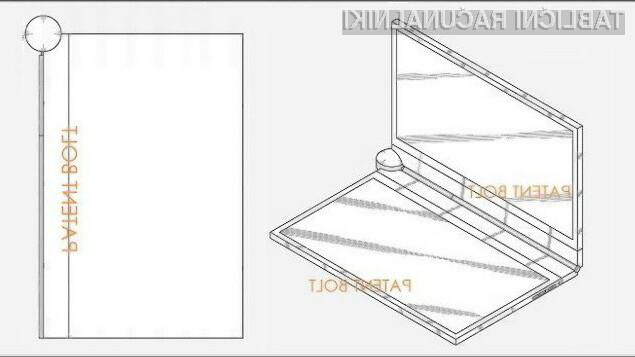Samsungov patent za dvozaslonski tablični računalnik ima izjemen potencial tako po uporabniški kot oblikovni plati!