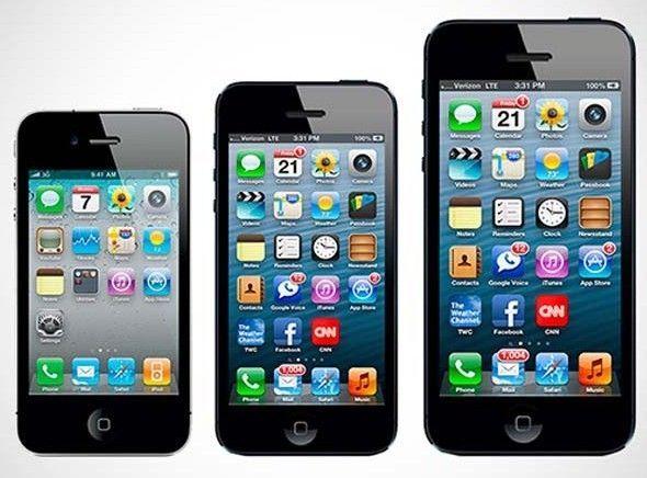 Novi iPhone 5S naj bi bil na voljo v dveh oziroma celo treh velikostih.