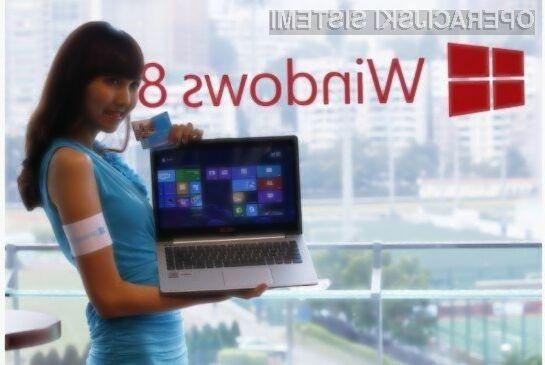Windows 8 naj bi po tržnem deležu prehitel Visto predvidoma letos poleti.