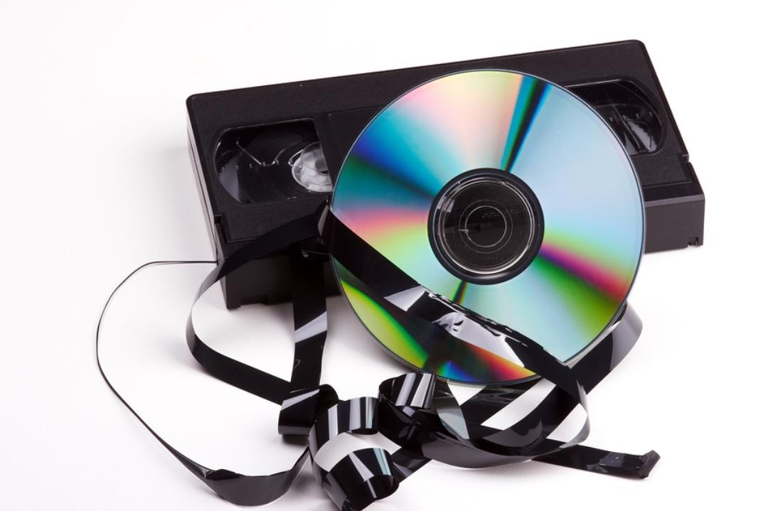 Vsebine VHS kaset ni težko prenesti na DVD.