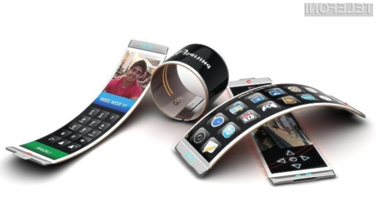 Prvi mobilonik LG Electronics z upogljivim zaslonom naj bi navduševal tako z uporabnostjo kot nenavadno obliko.