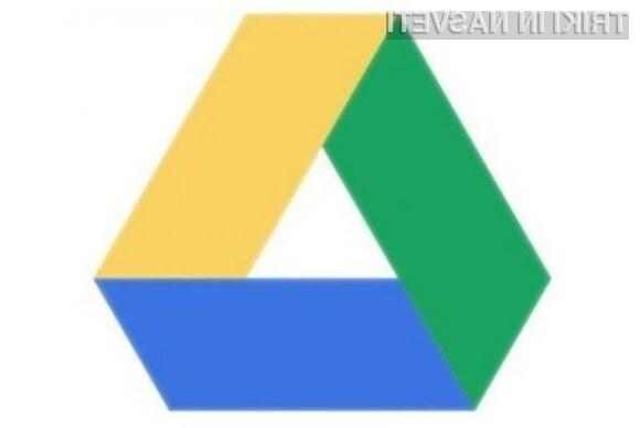 Samodejno šifriranje datotek naj bi po ocenah poznavalcev povečalo zaupanje v oblačno storitev Google Drive.